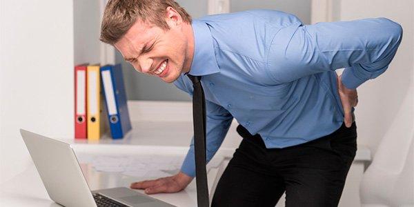 Causas da dor forte nas costas do lado direito