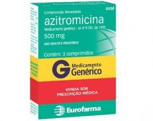 Azitromicina precisa de receita em casos de dúvidas