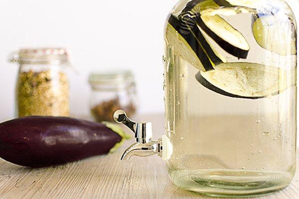 emagrecer rápido e com saúde com agua beringela