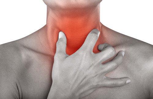 Remédio para a dor de garganta