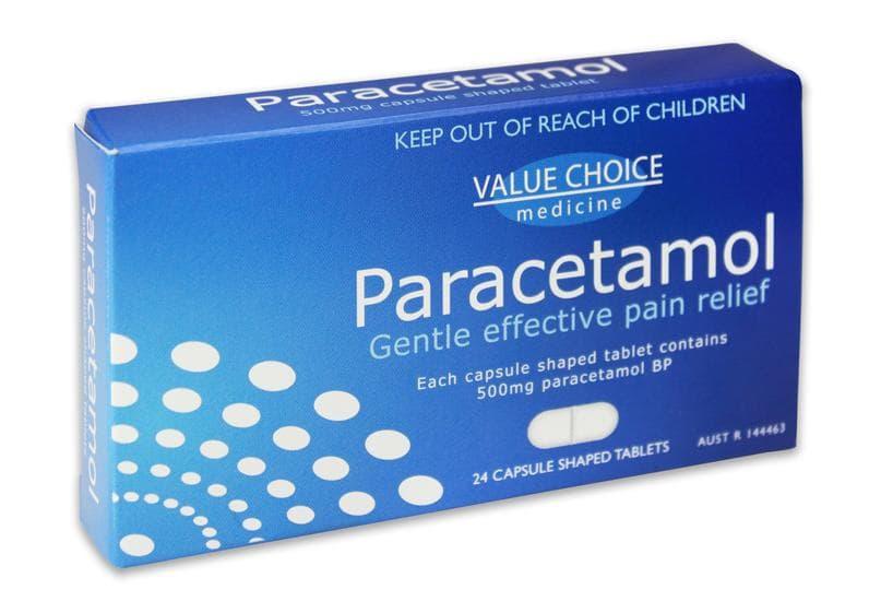 Paracetamol serve para dor de cabeça