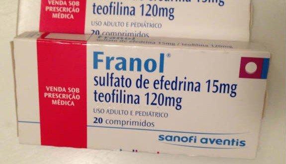 Franol precisa de receita
