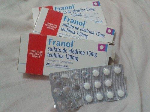 Franol vende sem prescrição