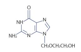 Como devo utilizar o Aciclovir no tratamento da herpes?