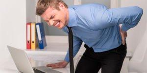 causas para dor nas costas
