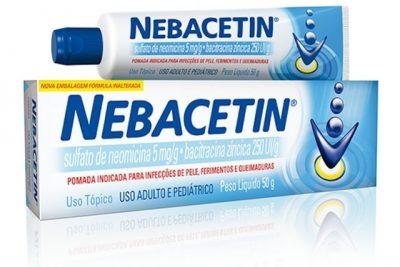 Nebacetin precisa de prescrição para ser comprado?
