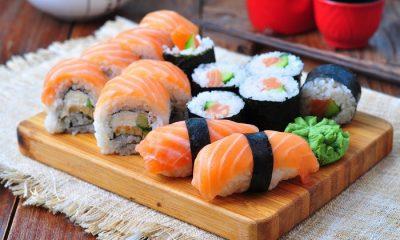 Conhecendo a origem do sushi