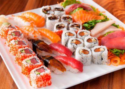 Gravida pode comer sushi